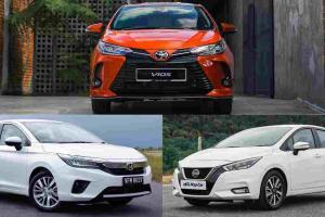Honda City vs Nissan Almera vs Toyota Vios:大马哪款B级轿车最省油?