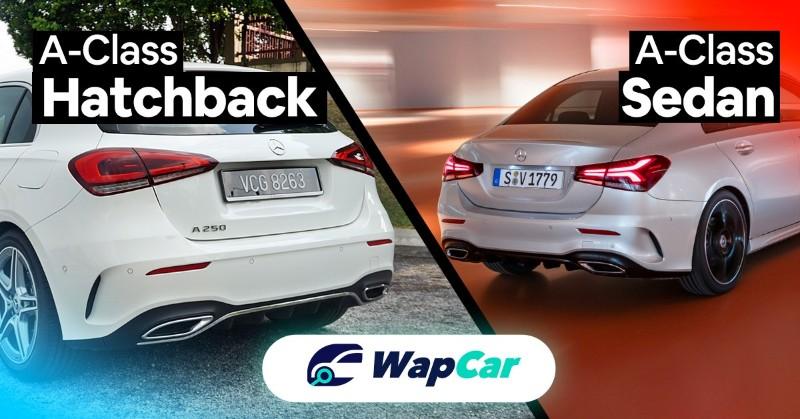 2018 Mercedes-Benz A-Class Hatch vs Sedan