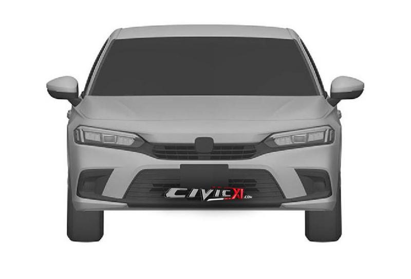 Leaked: Next-gen 2022 Honda Civic leaked via patent images 02
