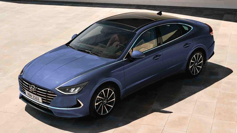 How does the all-new 2020 Hyundai Sonata compare to the Toyota Camry and Honda Accord? 02