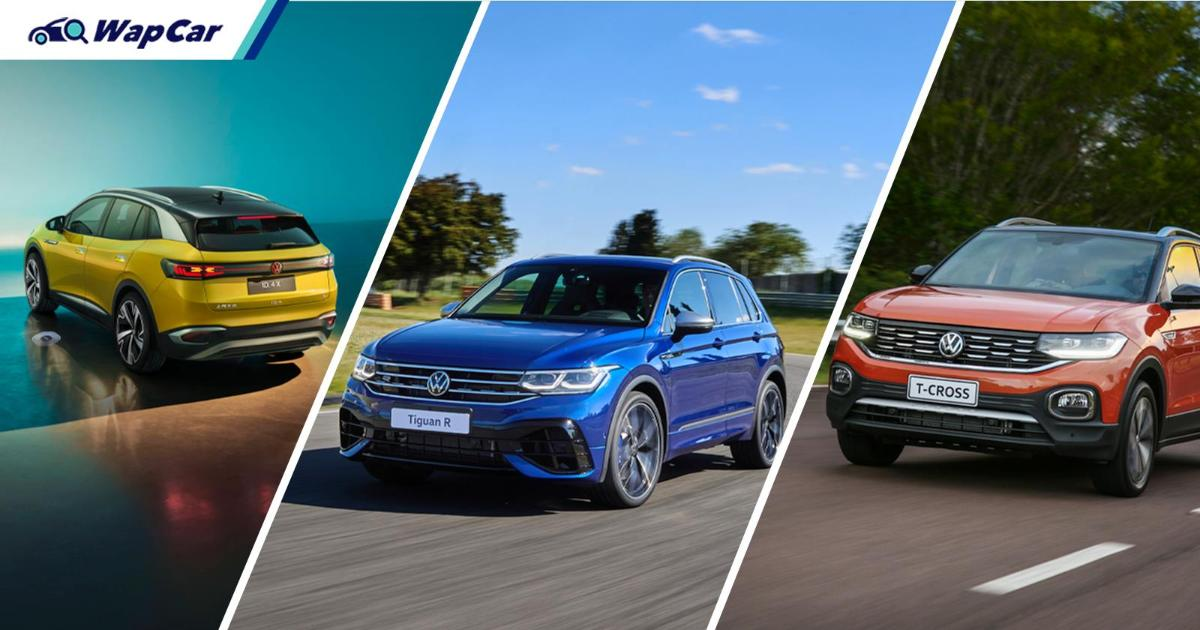 Volkswagen has more than 10 SUVs on sale worldwide, here's the complete list 01