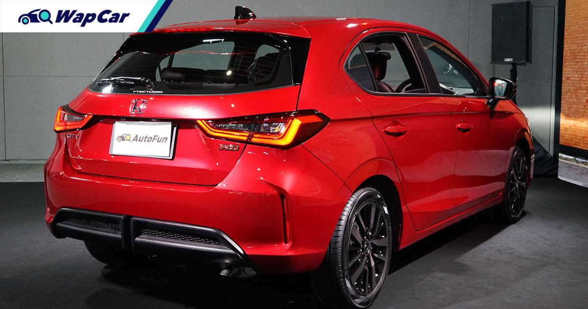 2021 Honda City Hatchback launched in Thailand, priced ...