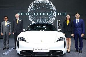 Porsche Taycan launched in Thailand - costs over RM 1.5 million