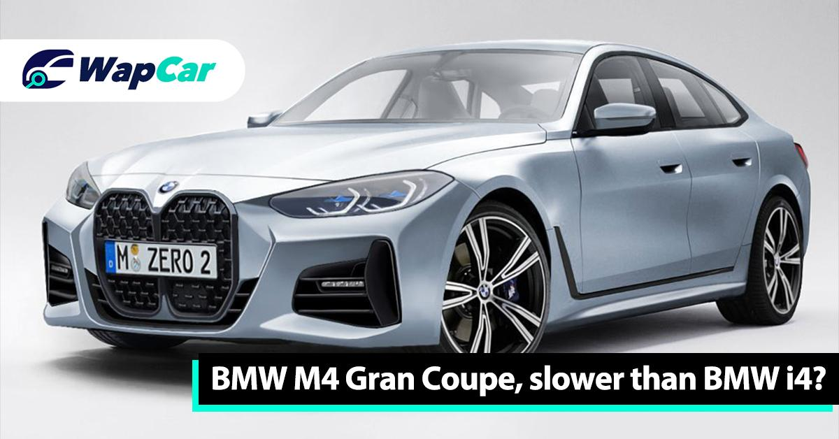BMW M4 Gran Coupe might be happening but the BMW i4 has more power – 530 PS/813 Nm 01