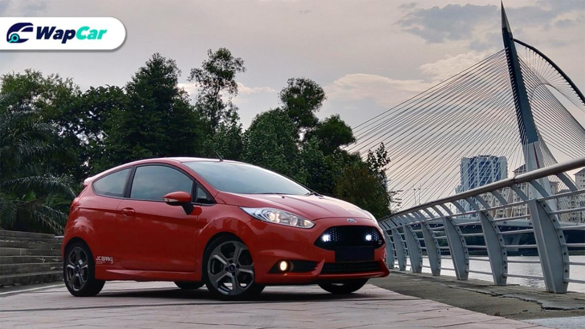 Ford Fiesta ST, reportedly 1 of 35 in Malaysia. Made in Cologne (Köln), Germany.