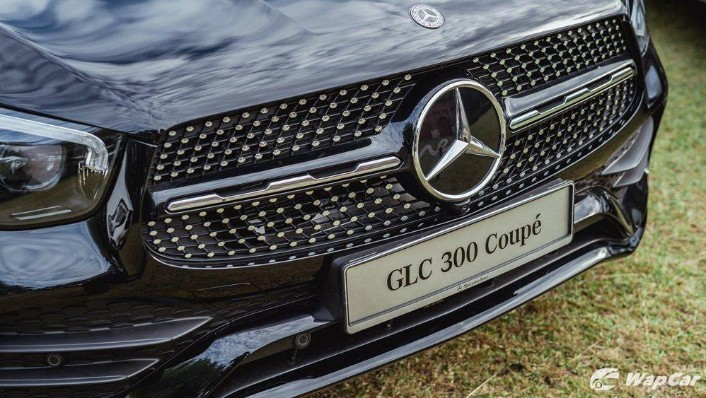 2020 Mercedes-Benz GLC 300 4MATIC Coupé Exterior 009