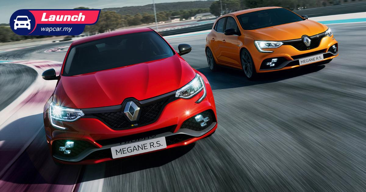 2021 Renault Megane RS 300 Trophy facelift launched in Malaysia; RM 326k, drops 6MT 01