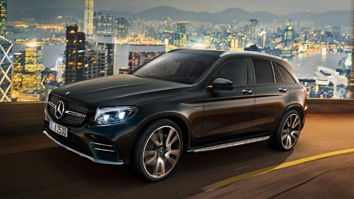 2018 Mercedes-Benz AMG GLC AMG GLC 43 4MATIC (CKD) Exterior 001