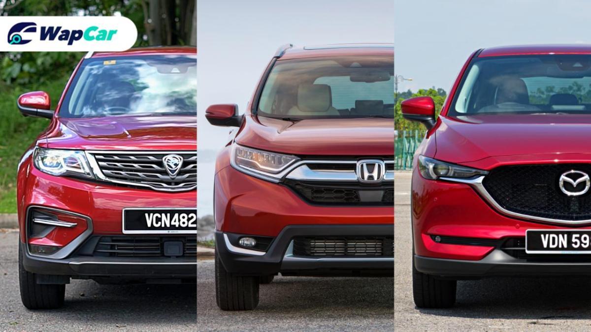 Ratings Comparison: Proton X70 vs Honda CR-V vs Mazda CX-5 - Driving performance 01