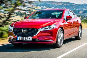 All-new Mazda 6: RWD, double wishbone and multi-link suspension makes it a 4-door MX-5