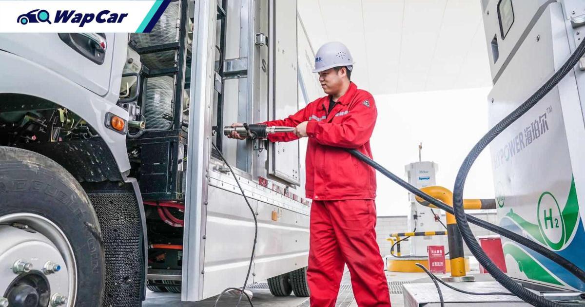World's biggest hydrogen refuelling station in China kicks off pilot programme 01
