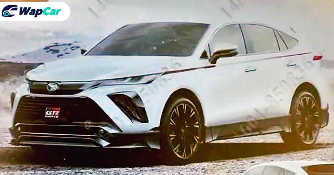 GR Parts and Modellista versions of the all-new 2021 Toyota Harrier leaked! 01