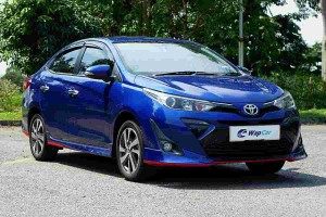 What's the Toyota Vios' fuel consumption in real-world driving?