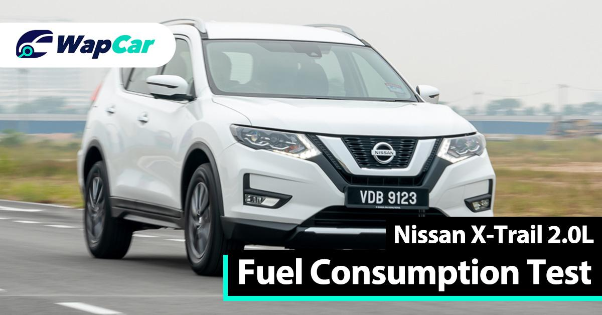Ratings: Nissan X-Trail 2.0L fuel consumption, how many litres does it consume per 100 km? 01