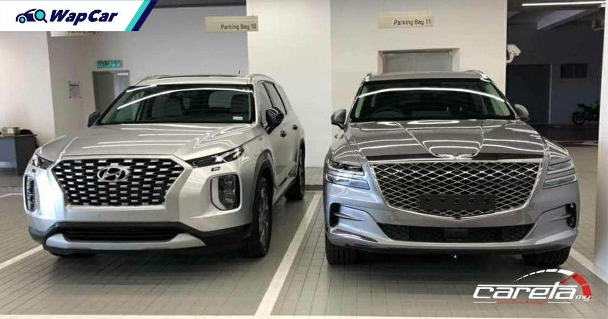 Spied: 2021 Hyundai Palisade and Genesis GV80 caught undisguised in Malaysia! 01
