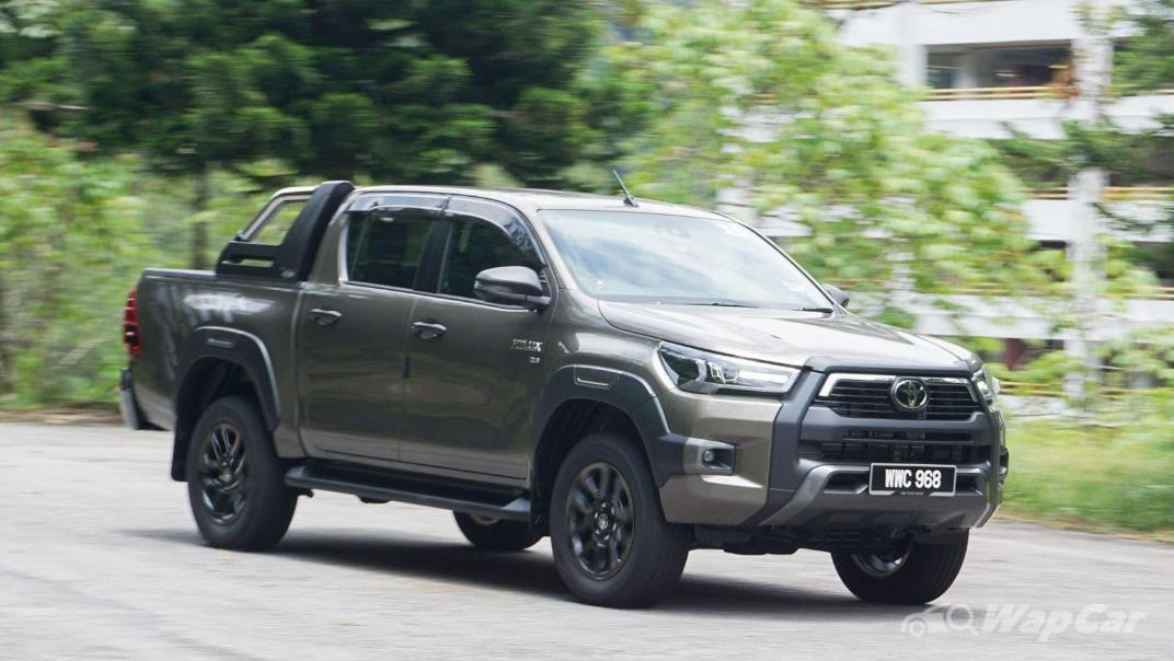 2020 Toyota Hilux Double Cab 2.8 Rogue AT 4X4 Exterior 096