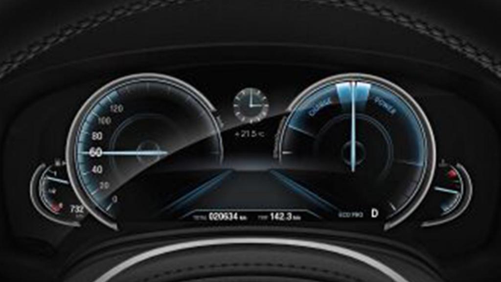 BMW 6 Series GT (2019) Interior 004
