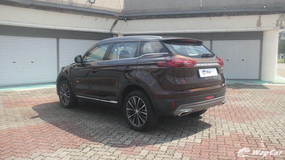 2018 Proton X70 1.8 TGDI Premium 2WD Exterior 046