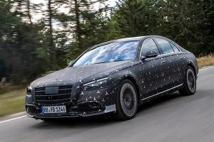 2021 Mercedes-Benz S-Class features E-Active Body Control - Raises car in side impact!