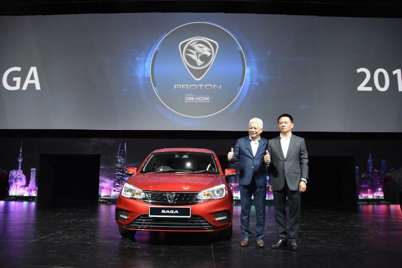 Launch of Proton Saga in early 2019
