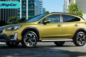 Subaru XV facelift dilancarkan di Jepun; Gril baru, e-Active Shift Control
