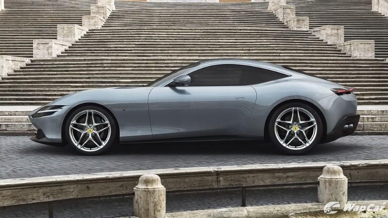 2020 Ferrari Roma Side