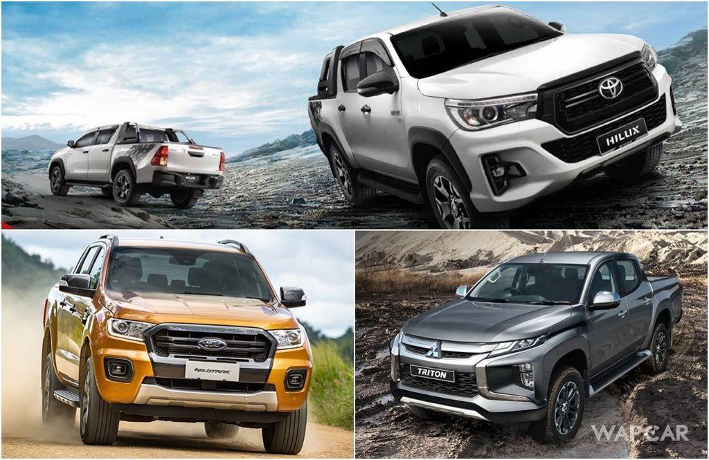 Toyota Hilux Vs Mitsubishi Triton 2019 Vs Ford Ranger – Which Should Be You Next Pick-up Truck? 01