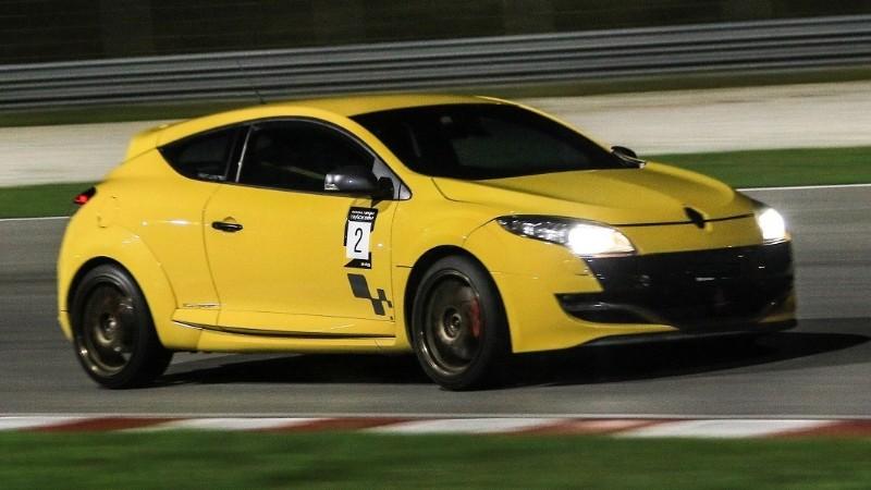 Renault Megane club track day