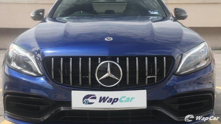 2019 Mercedes-Benz AMG C-Class AMG C63 Exterior 009