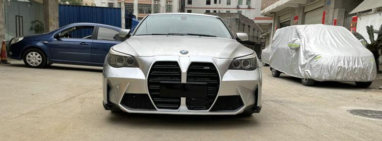 Want to stand out in your E60 BMW 5 Series? Give it the M3/M4's massive grille 02