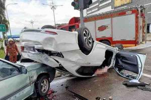 Myvi driver high on drugs kills Navy officer in Johor