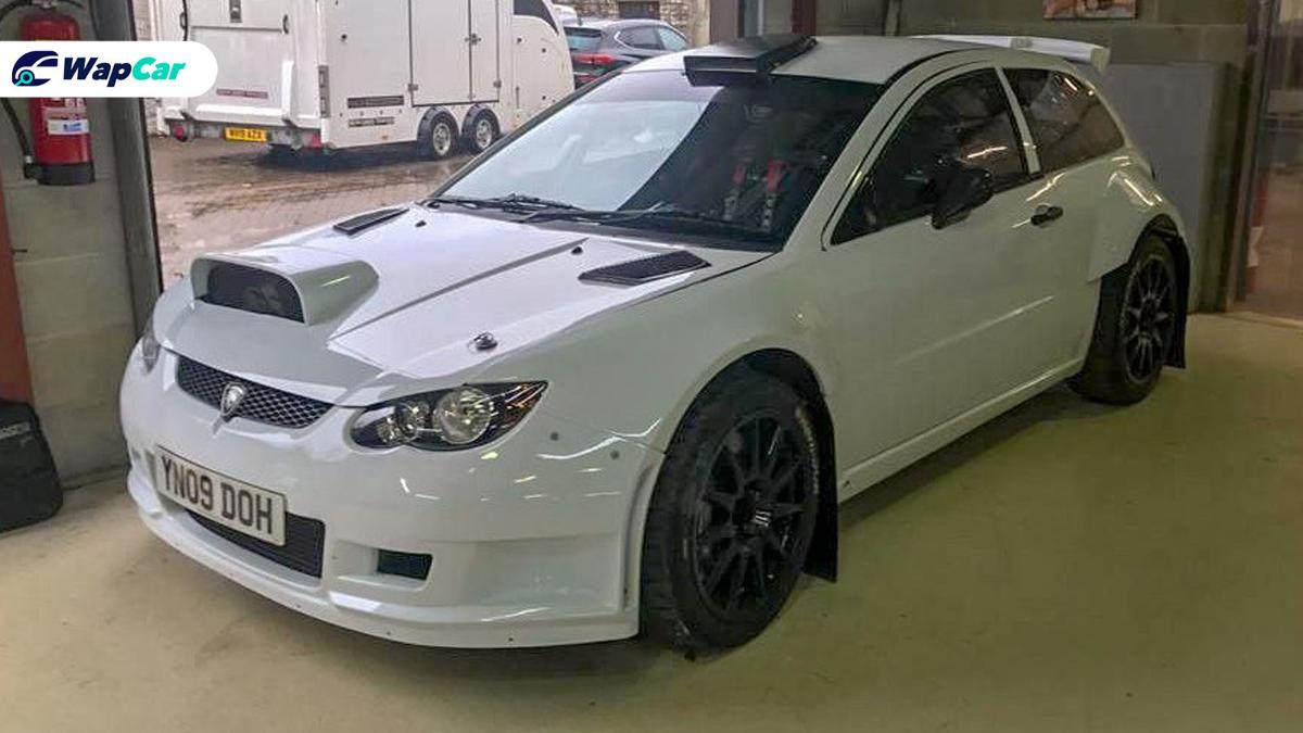 This rare Proton Satria Neo rally car is yours for a reasonable RM 450k 01