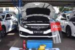 What's inside each and every Police Honda Civic?