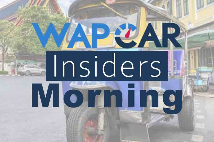 Wapcar Morning Insiders (Sep. 27, 2019)