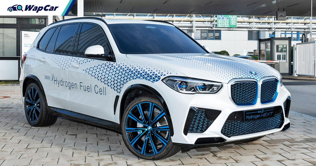 This BMW X5 FCEV is built using Toyota's tech 01