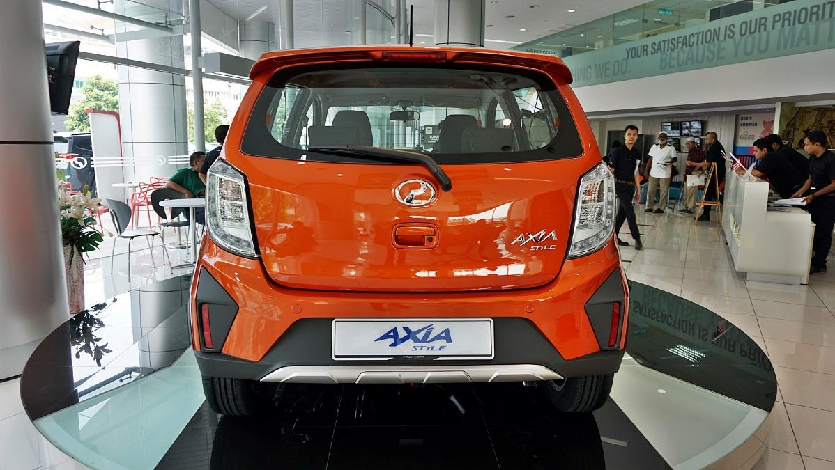 2019 Perodua Axia Style 1.0 AT Exterior 042