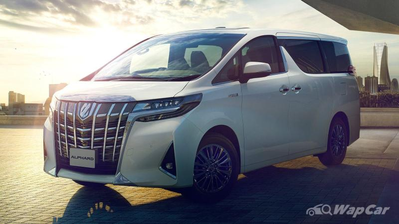 Why is it so hard to buy a Toyota Alphard / Vellfire that's not in white or black colour? 02