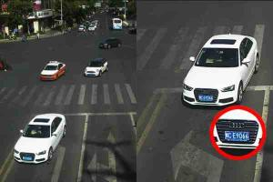 Cars named and shamed for driving against traffic in China