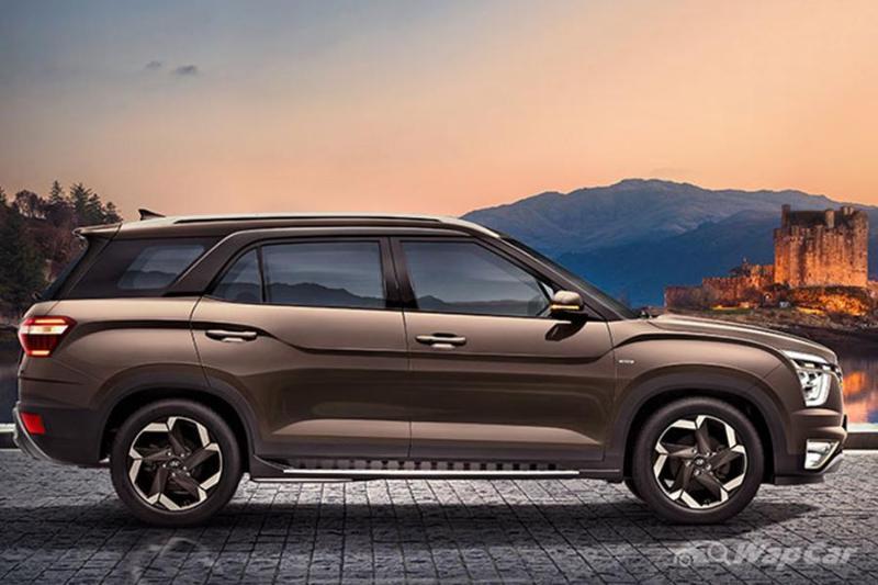 Aruz-rivalling, ASEAN-bound 2021 Hyundai Alcazar unveiled in India 02