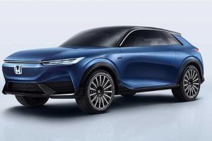 Honda SUV e:concept di pratonton; sekilas reka bentuk Honda akan datang?