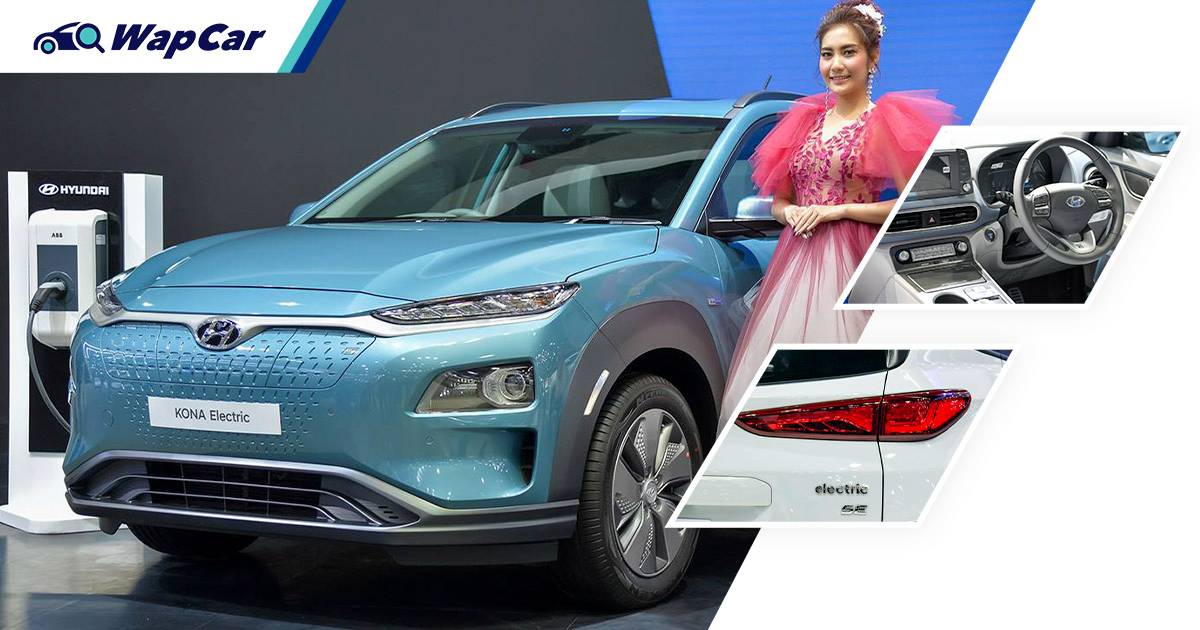 Prices TBC, 2021 Hyundai Kona Electric facelift coming to Malaysia in Q4, 2 variants 01