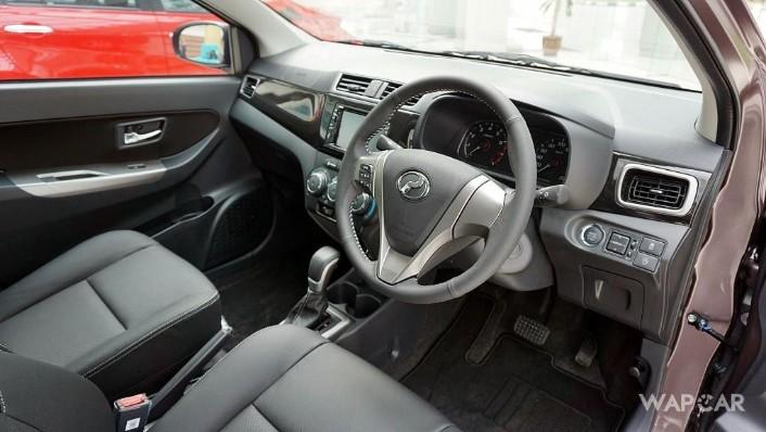 Perodua Bezza (2018) Interior 001