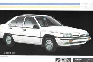 Proton Saga 1989 kualiti eksport ada bumbung suria? Imbau kembali kehadiran Proton di UK!