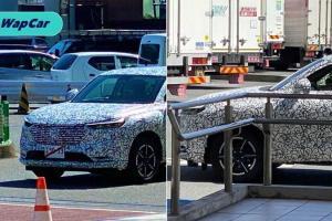 Diintip: Honda HR-V 2021 serba baharu dilihat dalam camo!