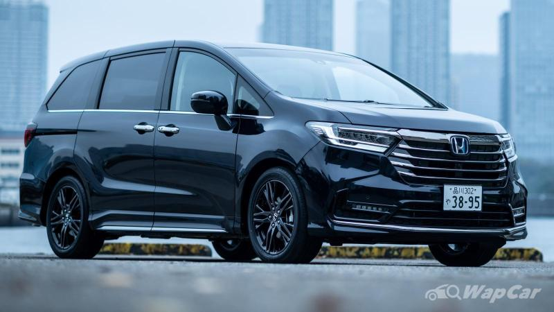 Honda Odyssey facelift with Star Wars tech coming to Malaysia in 2021 02