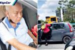 Disalah erti, warga emas memandu Perodua Viva diterajang kerana disyaki menculik remaja OKU