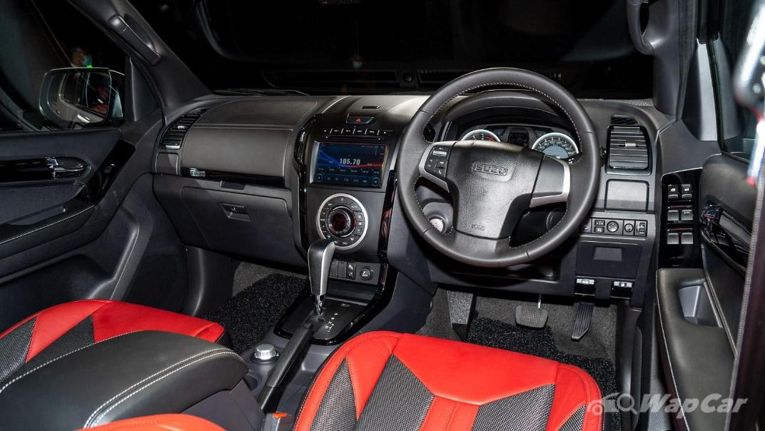2020 Isuzu D-Max Stealth 1.9L 4×4 AT Interior 002