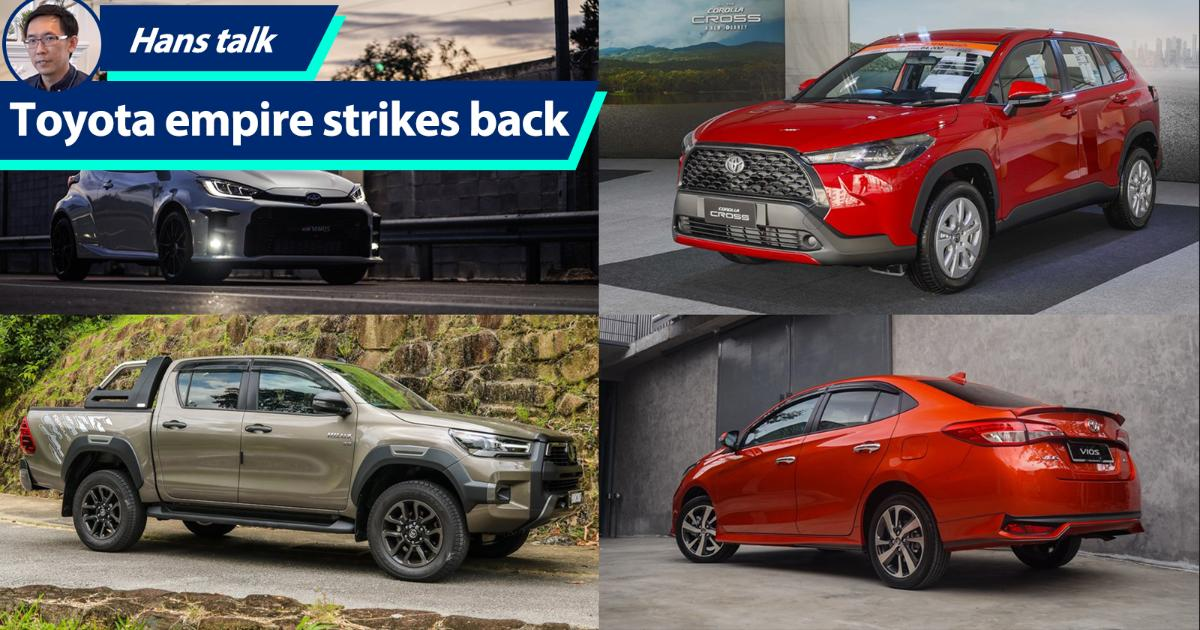 2021 to be Toyota's year to reclaim No.1 non-national brand title from Honda Malaysia 01