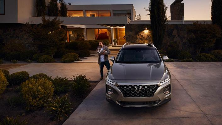 Hyundai Santa Fe (2019) Exterior 005
