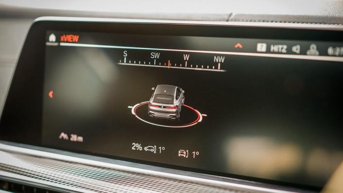 2020 BMW X6 xDrive40i M Sport Interior 007
